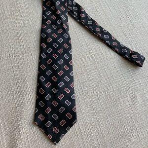 Oscar de la Renta 100% silk tie, vintage